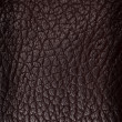 Black leather texture closeup detailed background. — Stock Photo