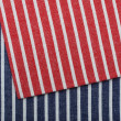 Stripe fabric texture — ストック写真
