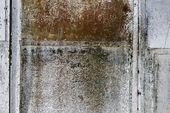 Blank rusty metal wall — Stock Photo