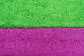 Colored terry cloth background — Stock Photo