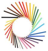 Crayons Frame — Stock Photo