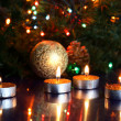 Christmas Candles — Stock fotografie
