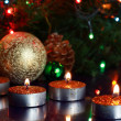 Christmas-Tree Decorations — Stockfoto