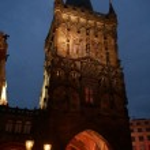 Night Prague — Stock Photo