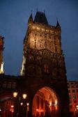 Noc Pragi — Zdjęcie stockowe