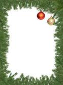 Christmas Decotarion Frame — Stock Photo