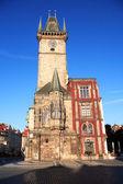 Prag-rathaus — Stockfoto