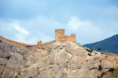 Fortress On Rock — Stock Photo