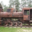 Old Rusty Steam Locomotive — Stock Photo