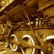 Old Rusty Steam Locomotive — Stock Photo #29773617