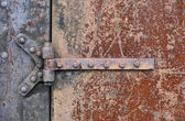 Rusry Metal Door — Stock Photo