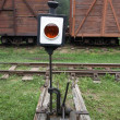 Stock Photo: Old Railway Switch