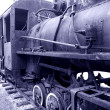 Stock Photo: Old Rusty Steam Locomotive