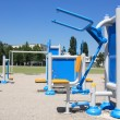 Outdoor Exercise Equipment — Stock Photo