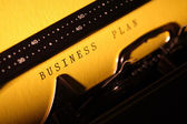 Business Plan — Foto de Stock