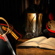 Sword And Book — Stockfoto