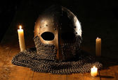 Knight Helmet — Stock Photo
