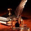 Stock Photo: Vintage Inkstand