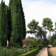 Generalife Gardens — Stock Photo