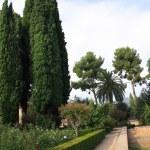 Generalife Gardens — Stock Photo