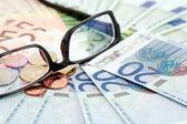 欧洲联盟货币 — 图库照片