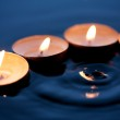 Candles On Water — Stock Photo #36098493