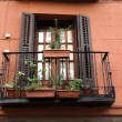 Old Balcony — Stock Photo