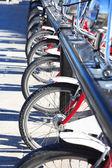 自転車のレンタル — ストック写真