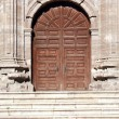 Ancient Church Entrance — Stock Photo