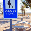 Stock Photo: Picnic Zone
