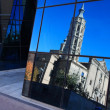 Church Reflection — Stockfoto