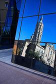 Church Reflection — Stock Photo