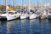 Yacht Anchorage — Stock Photo