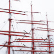Stock Photo: Sailing Ship Mast