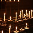 Candles In Church — Foto de Stock