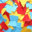 Lacerated Color Paper — Stock Photo #39738469