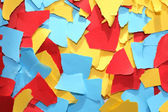 Lacerated Color Paper — Stock Photo