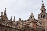 Kathedrale von sevilla. — Stockfoto