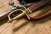 Arma antigua — Foto de Stock