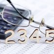Bookkeeping Concept — Stock Photo #41721369