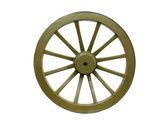 Old Wooden Wheel — Стоковое фото