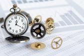 Bedrijf tijd — Stockfoto