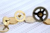 Financial Mechanism — Stock Photo