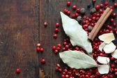 Spice su legno — Foto Stock