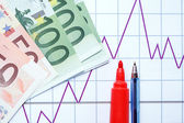 European Economic Growth — Stock Photo
