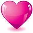 Glitter pink heart — Stock Vector #1941749