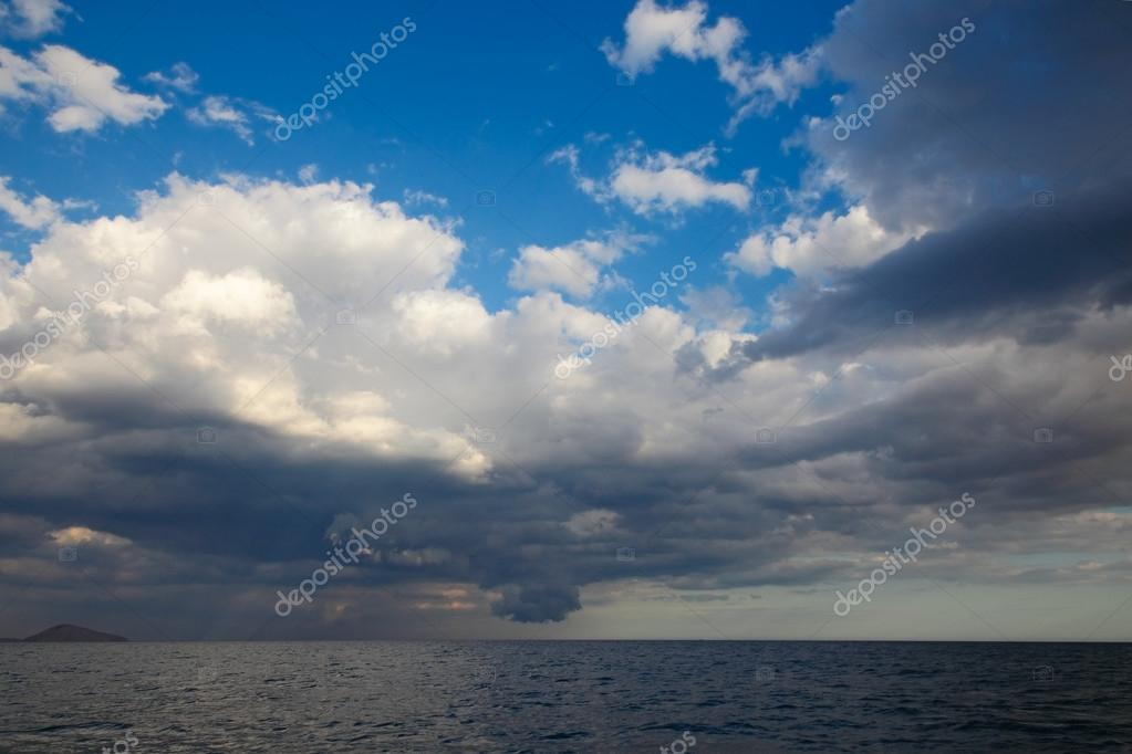 Sea landscape background. Black Sea. Country Ukraine — Stock Photo #15627971