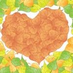 Heart leaf — Stock Vector #2323266