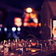 Party DJ — Stock Photo