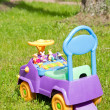 Child car toy - Stock Photo
